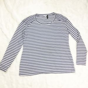 Splendid x A Pea in the Pod Striped Long Sleeve